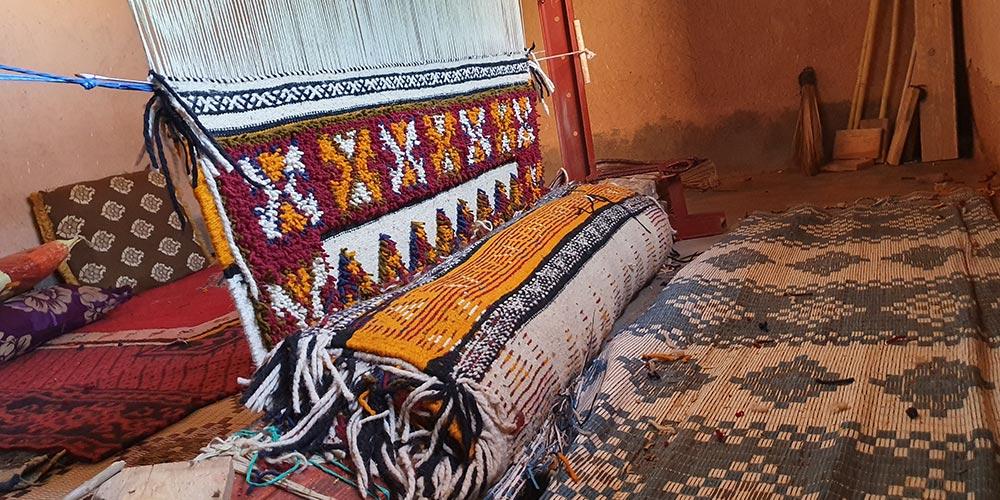 Le Glaoui, symbole du tapis berbère