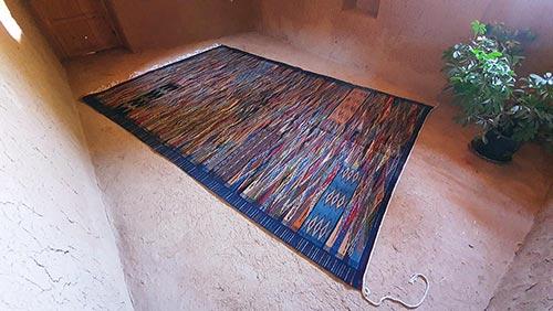 Berber carpet in Kharita style