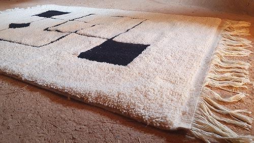 Berber Teppich mit modernen Mustern